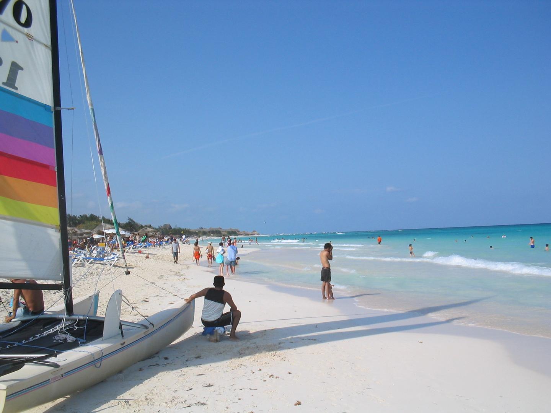 Katamaran am Playa del Carmen