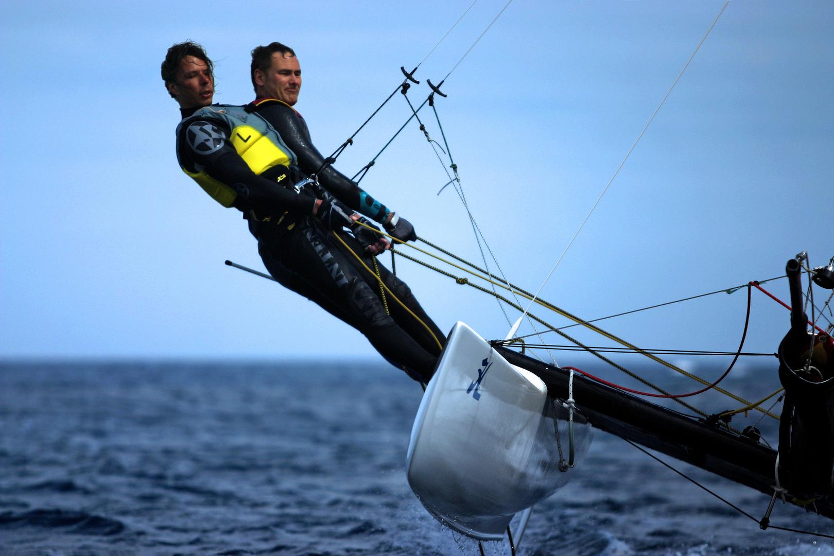 Katamaran segeln  Katamaran Segeln II Foto & Bild | sport, segel- surf ...