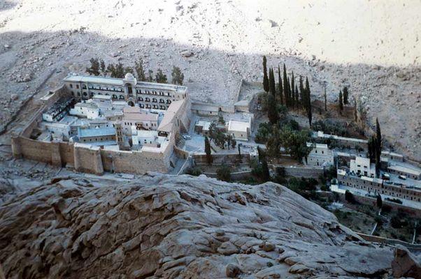 Katerienen Kloster/Sinai-Halb insel