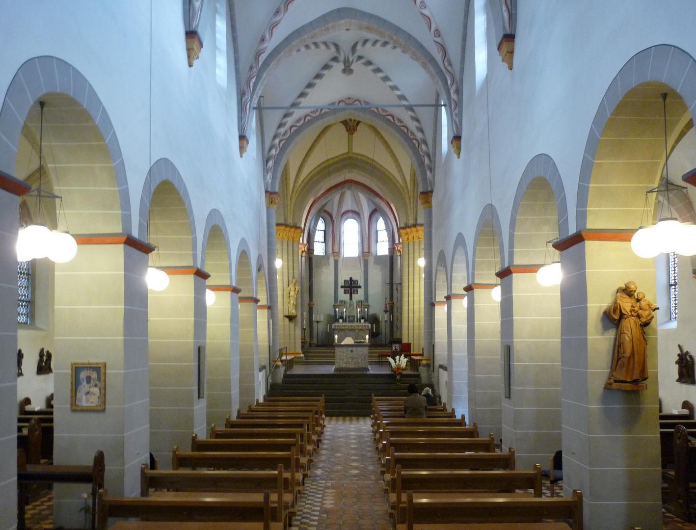 Kath. Kirche St. Pankratius, Oberpleis