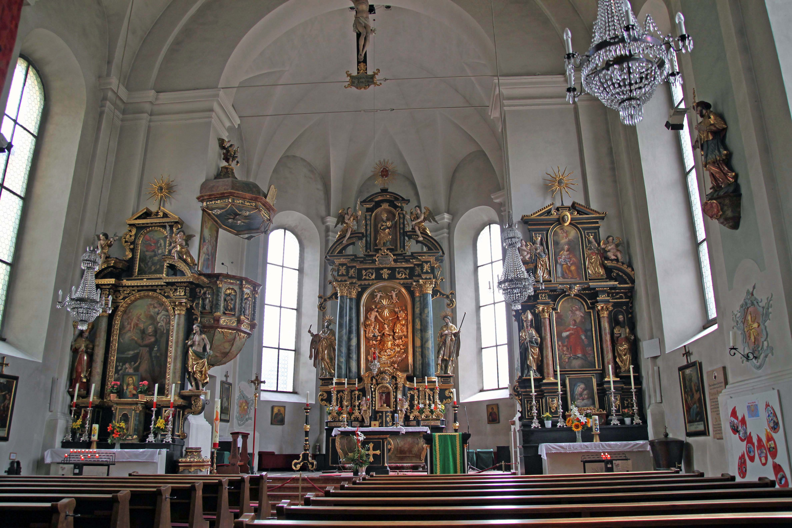 Kath. Pfarrkirche, Saalbach-Hinterglemm