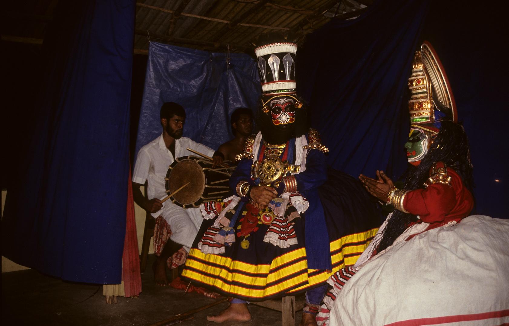 Kathakali-Tanz in Cochin