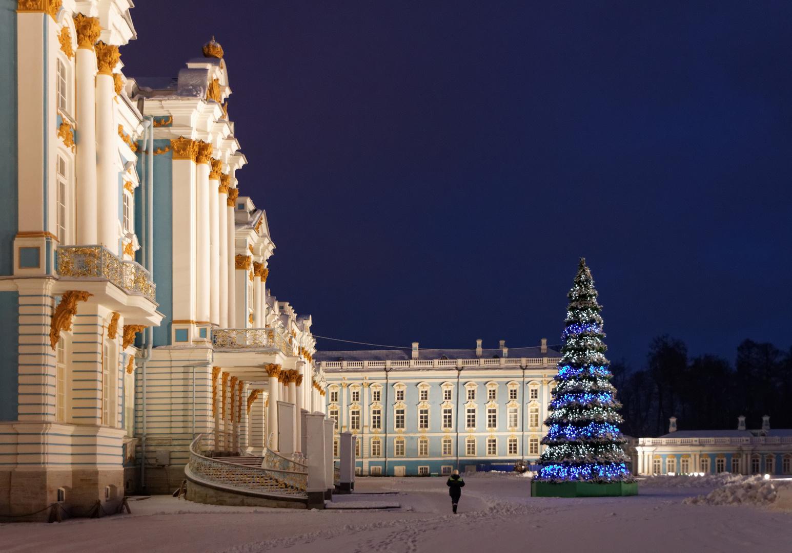Katharinenpalast im Winter