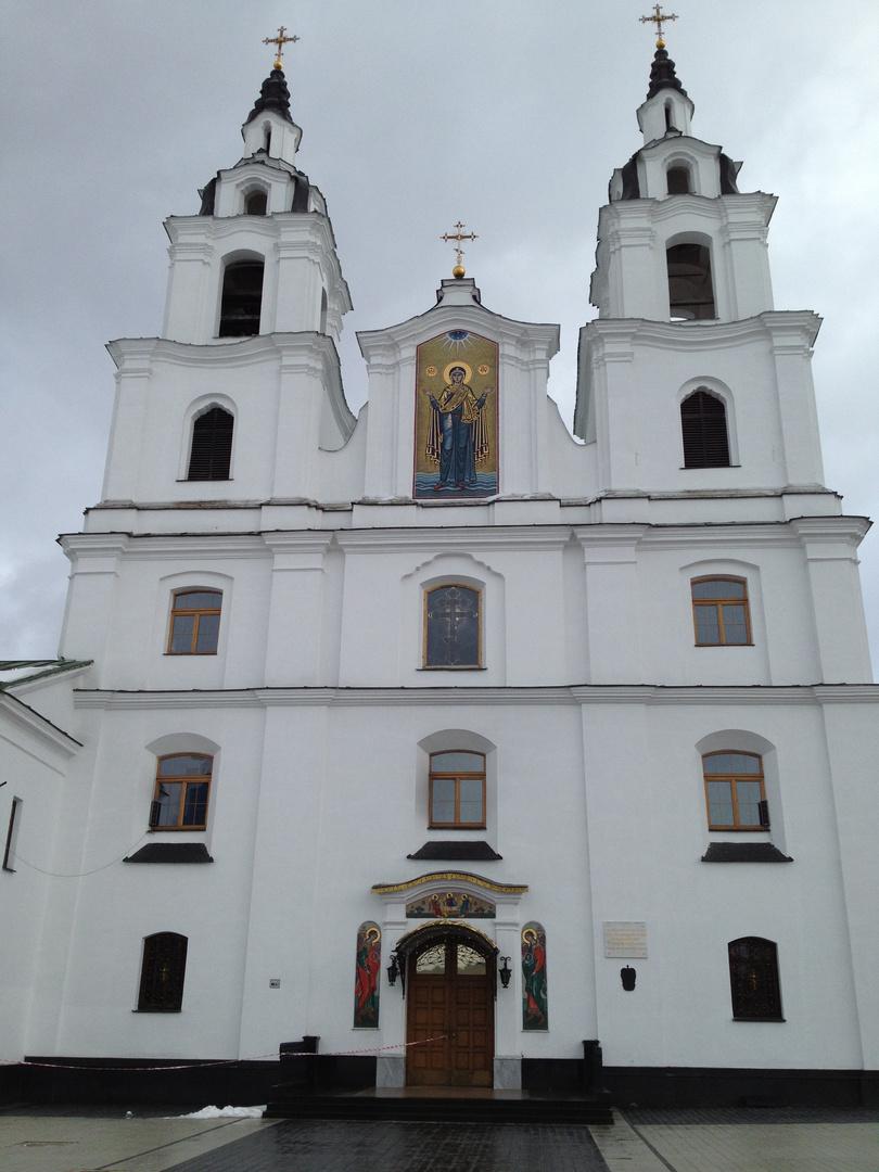 Kathedrale des Heiligen Geistes in Minsk