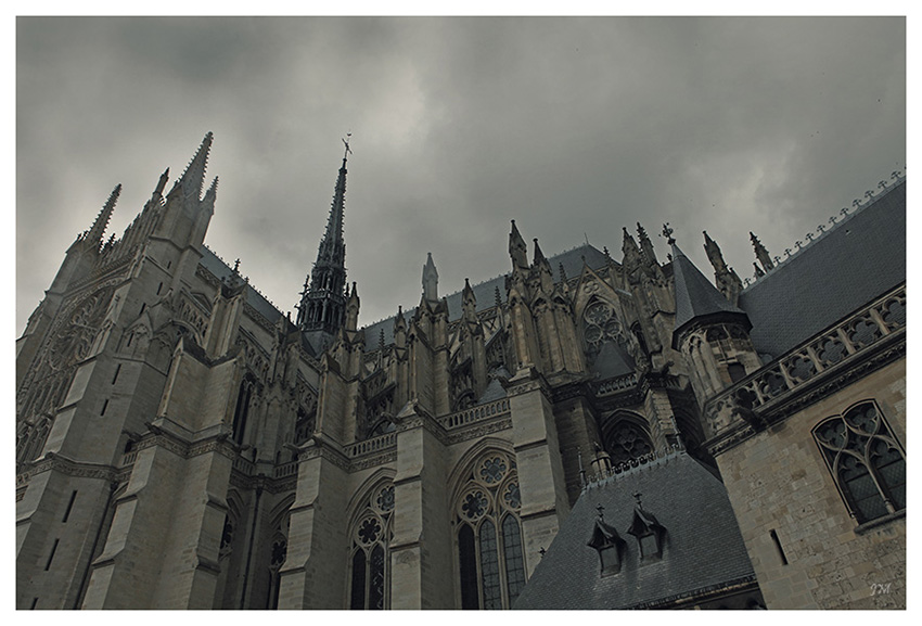 Kathedrale in Amiens 01