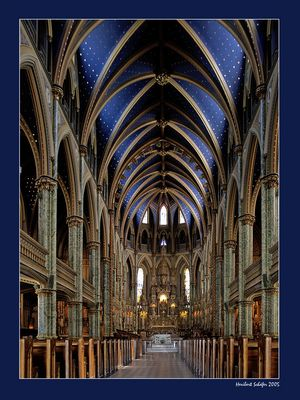 Kathedrale in Ottawa, Kanada