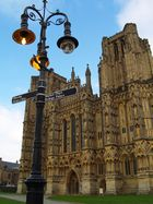 Kathedrale in Wells GB