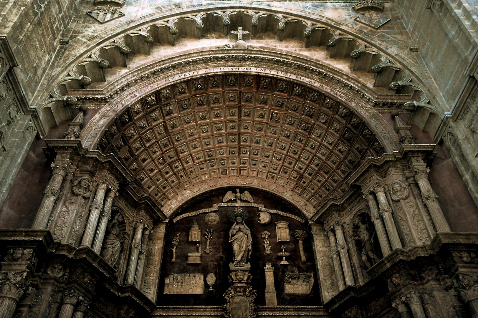 Kathedrale La Seu in Palma Mallorca