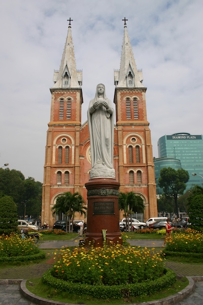 Kathedrale Notre-Dame in Saigon