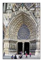 Kathedrale Notre-Dame, Reims, Mittelportal