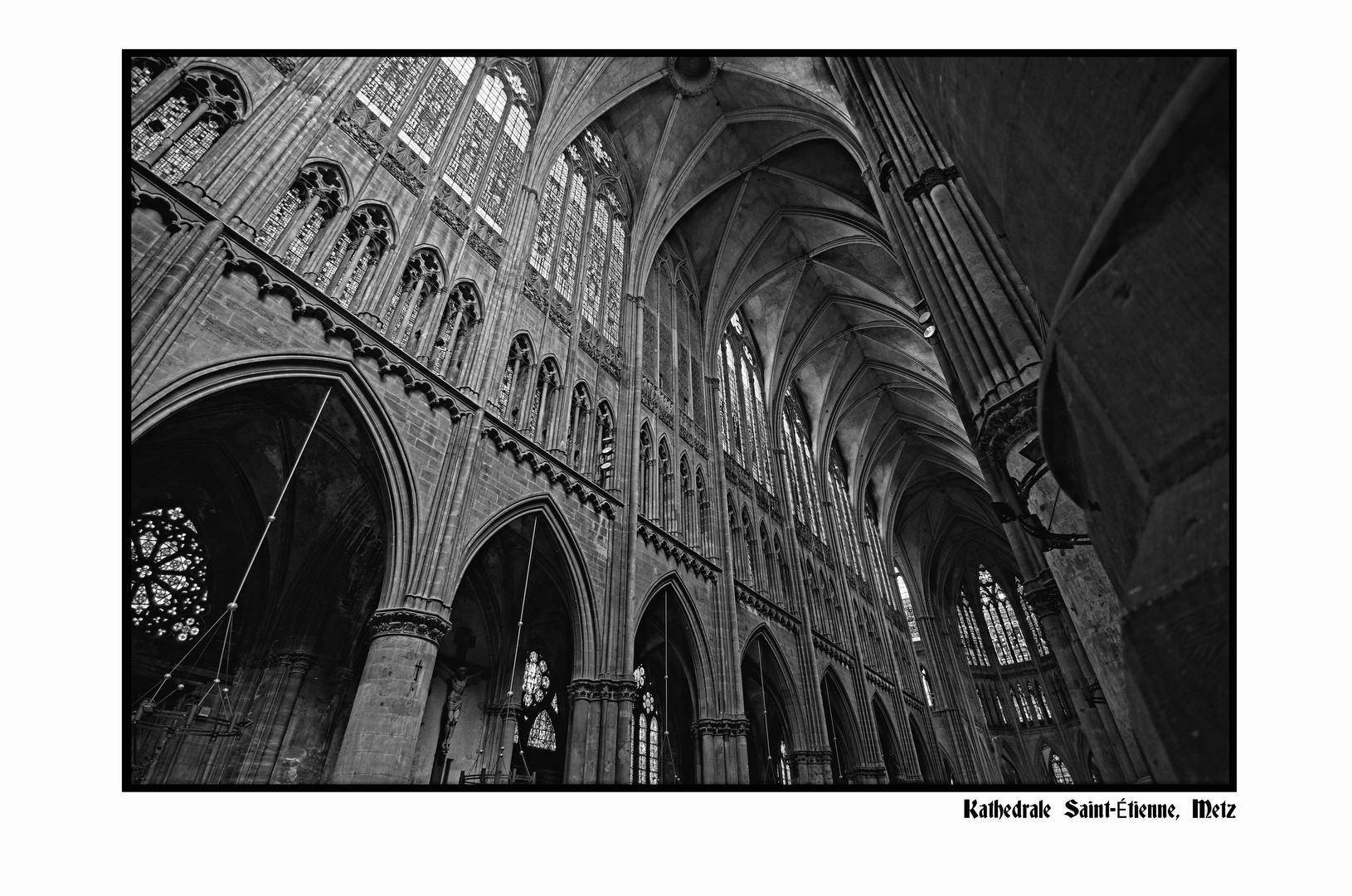 Kathedrale Saint-Étienne in Metz (reloaded)