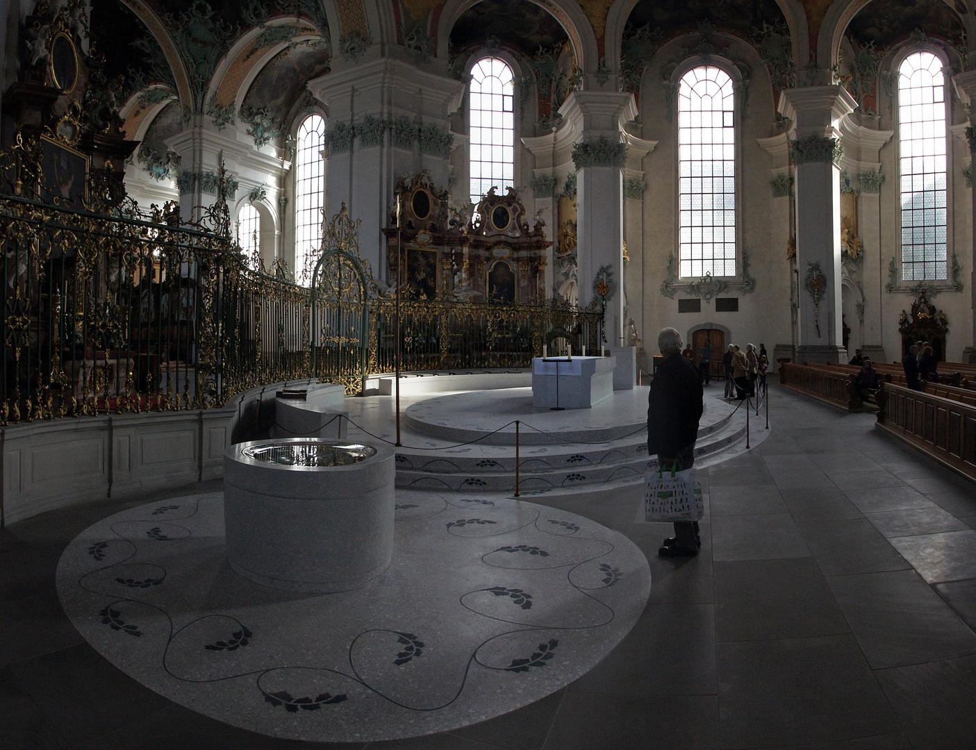"""Kathedrale St.Gallen """"Der neue Mittelaltar"""""""