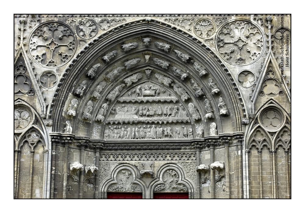 Kathedrale von Bayeux - Westportal