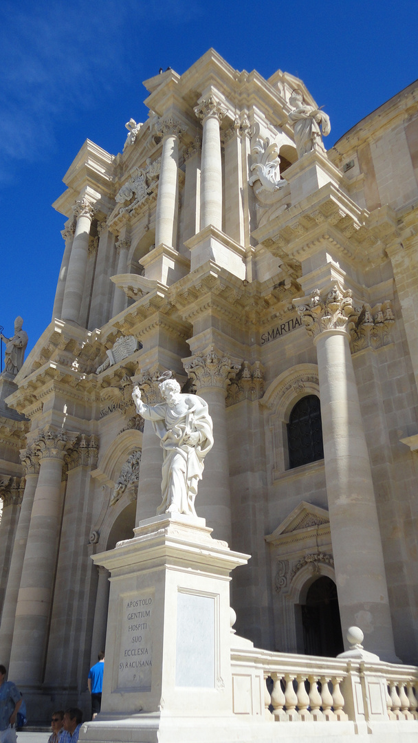 kathedrale von syrakus, war einst........