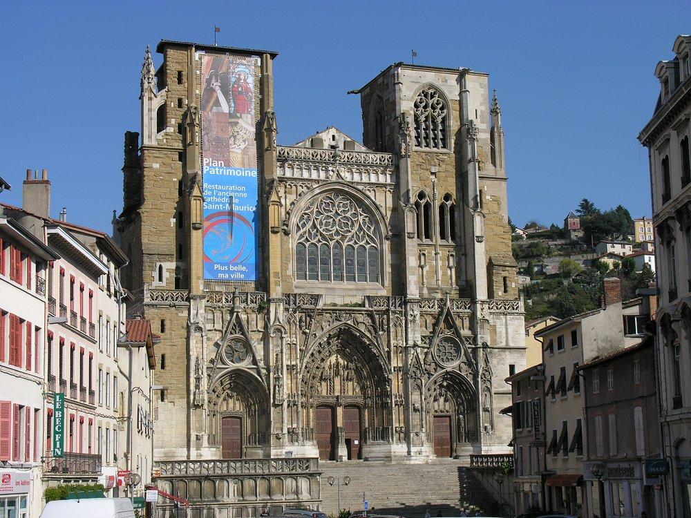Kathedrale von Vienne, Rhônetal, Frankreich