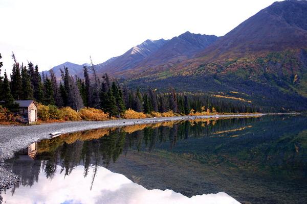 Kathleen Lake im Kluane Nationalpark