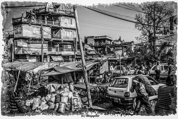 Kathmandu am Nachmittag