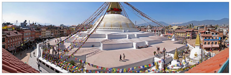 Kathmandu - Boudhanath - Stupa