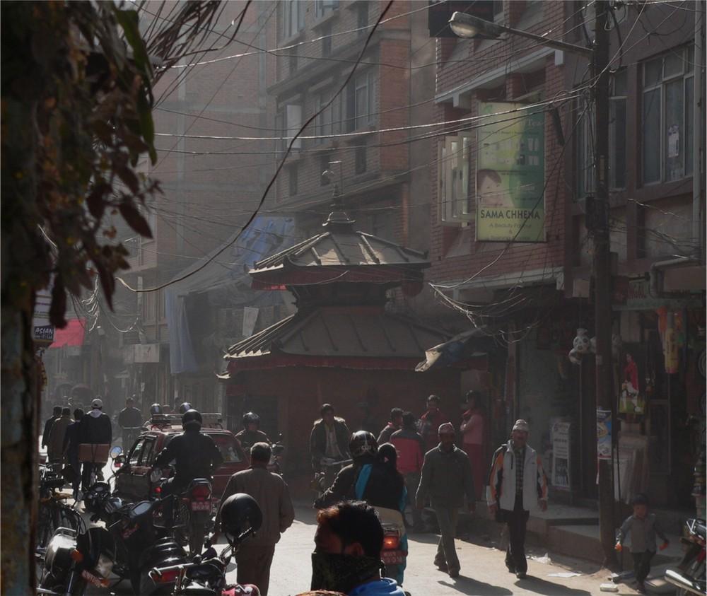 Kathmandu Strassenszene