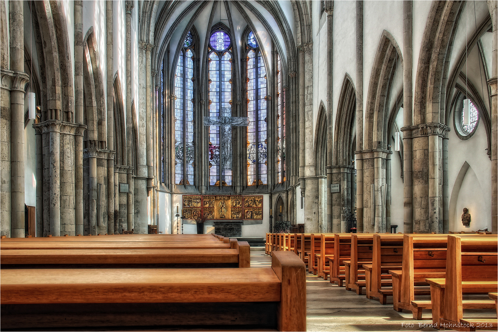 katholische Minoritenkirche  zu Köln ...