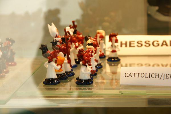 Katholische Schachfiguren