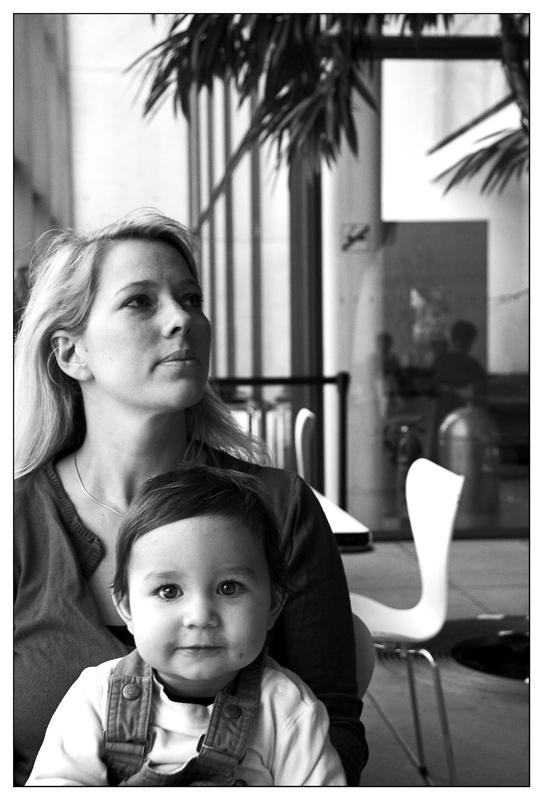 Katja und Benedikt in der Pinakothek