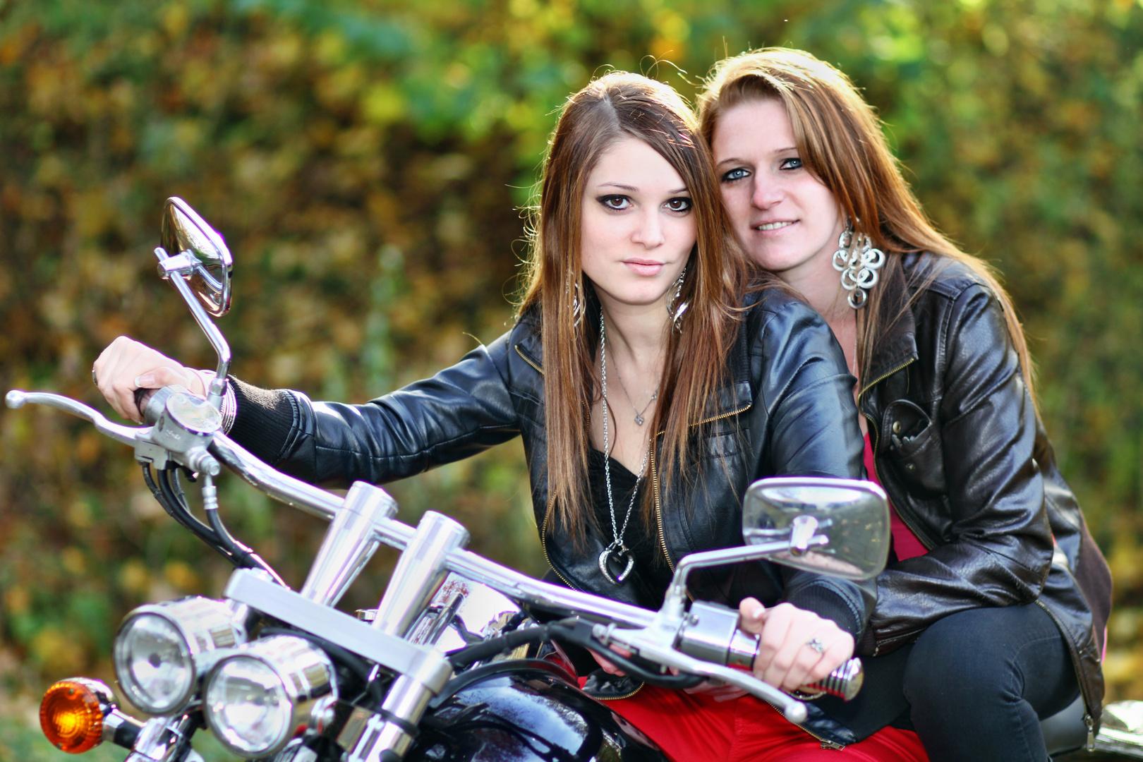 ...Katja und Ellen...
