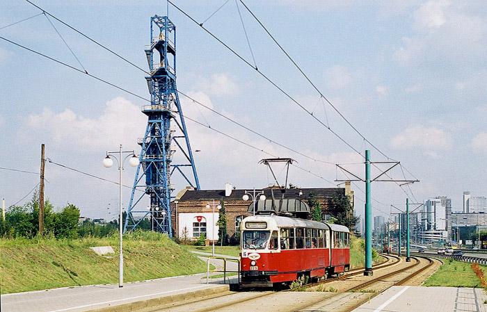 Katowice wird modern . . .