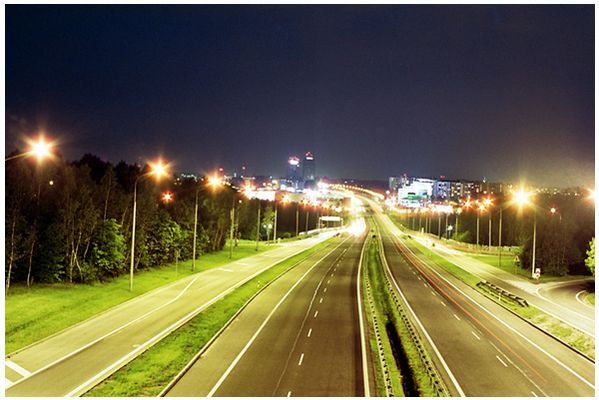 Kattowitz by night