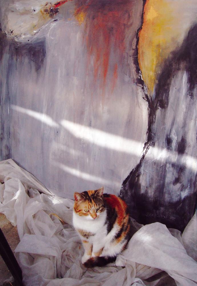 Katze? Kunst? Oder beides?