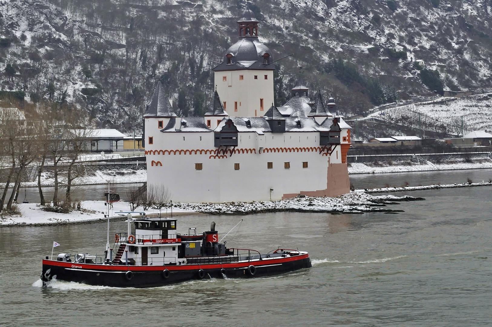 Kaub am Rhein...