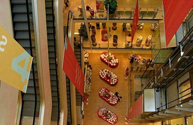 Kaufhaus von oben
