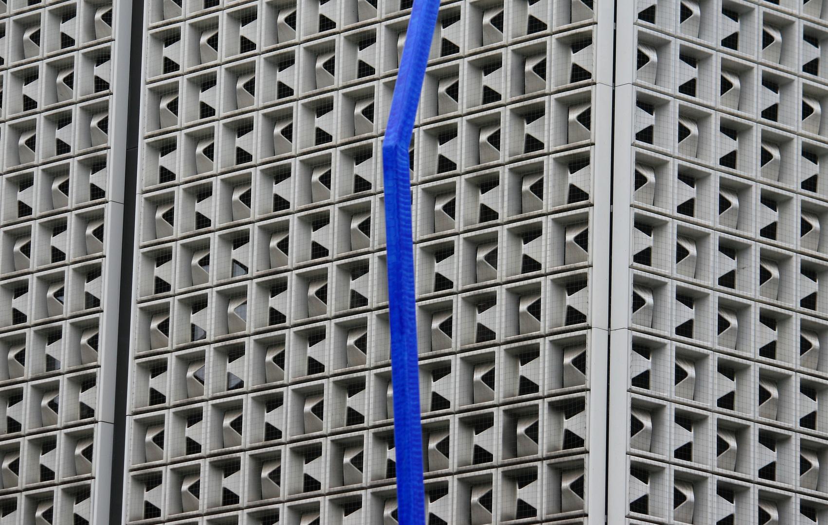 Kaufhausfassadenstruktur