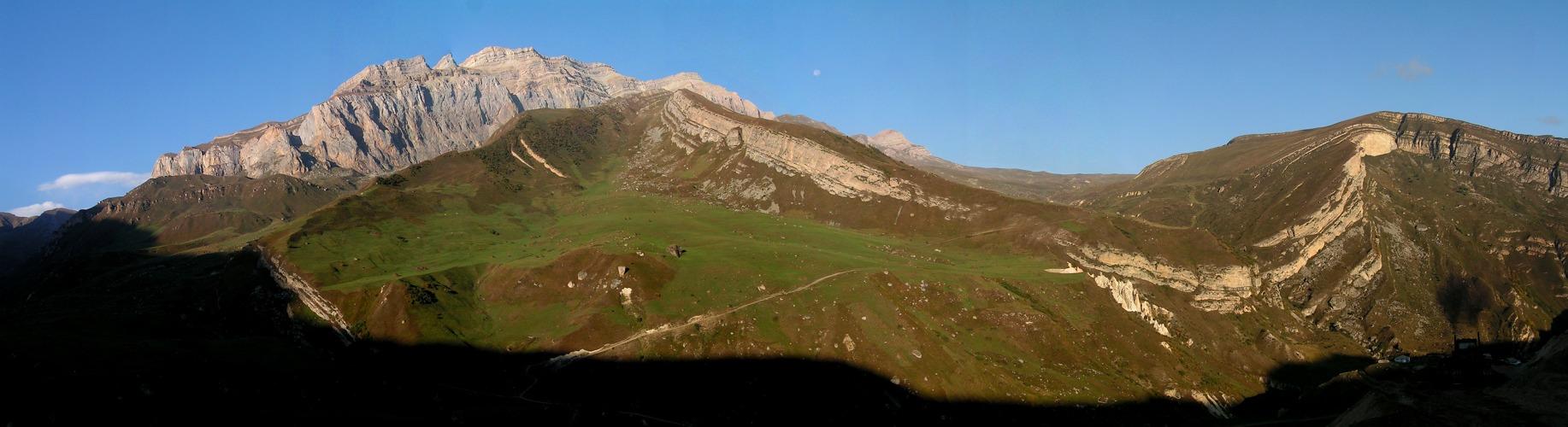 Kaukasische Landschaft