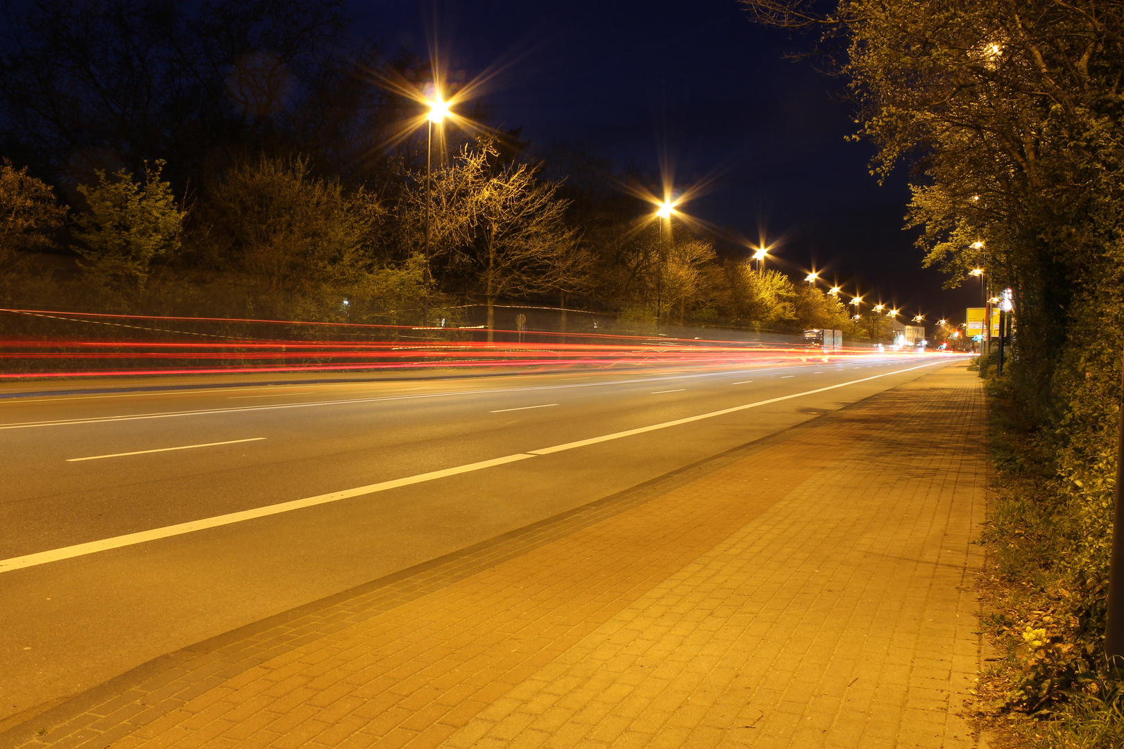 Kaum Verkehr