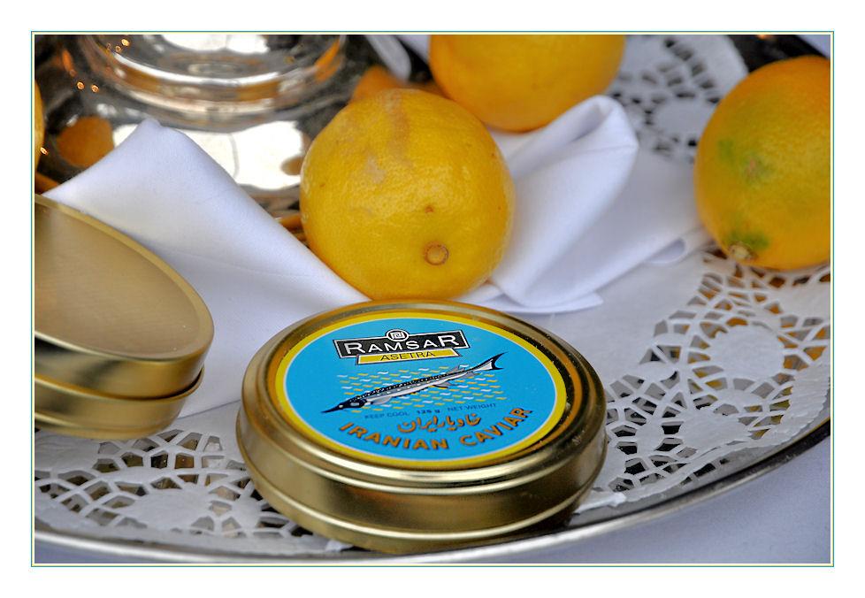 Kaviar für die Reichen und Schönen