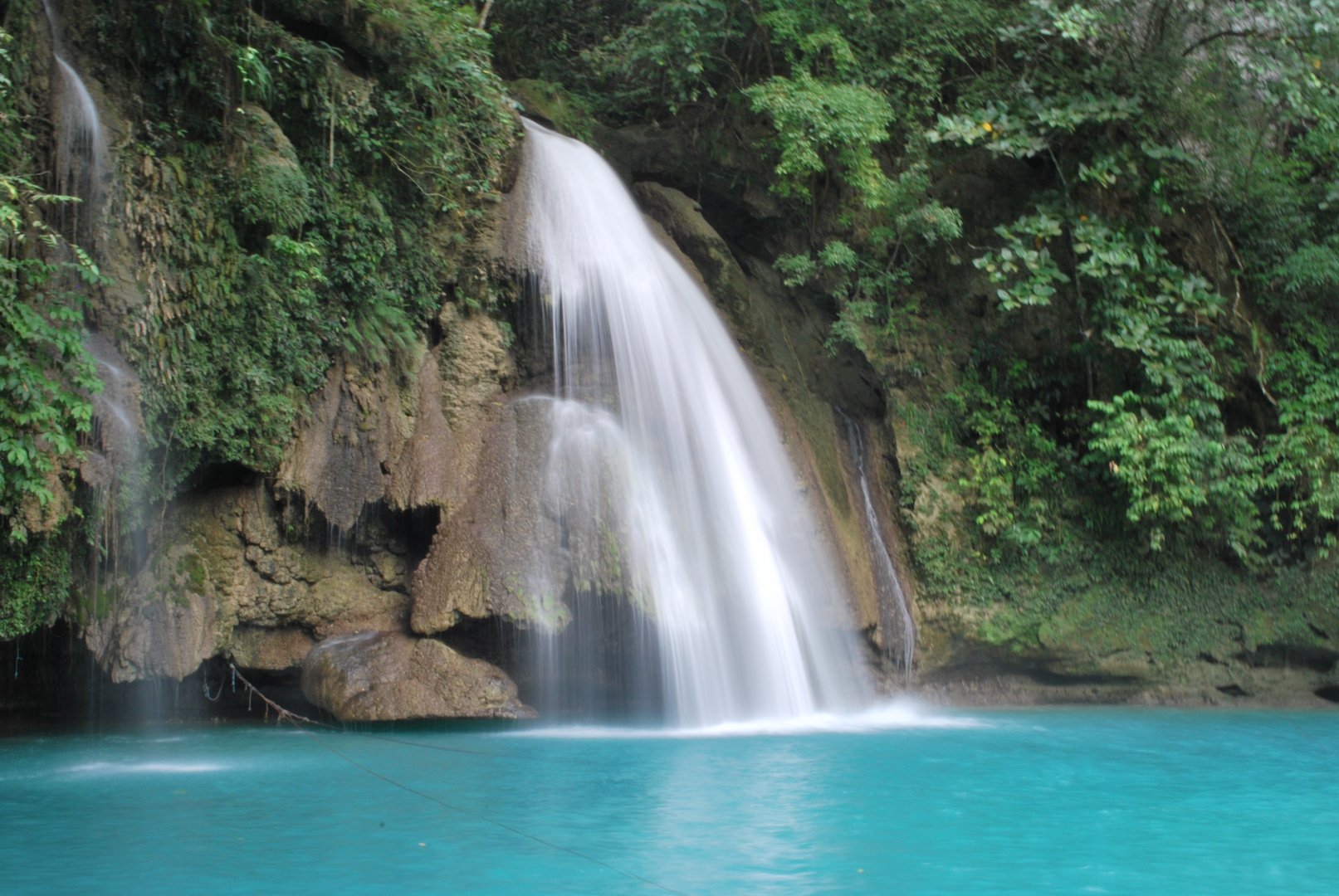 kawasan fall first step
