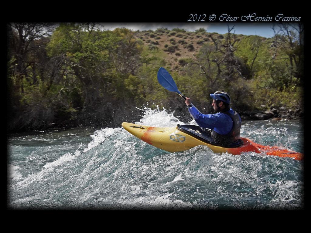 Kayak en Chimehuin