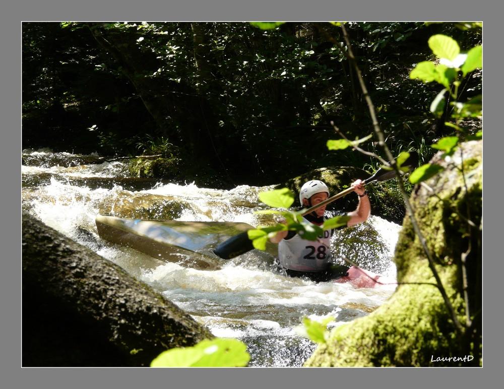 Kayak sur le Chalaux