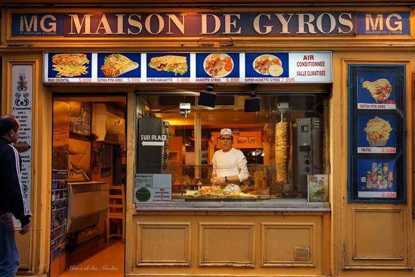 ...Kebab  Giros Paris...