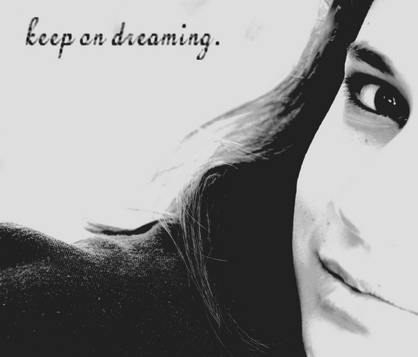 Keep on dreaming.