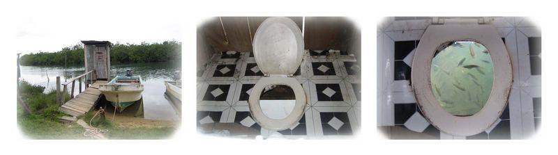 Keep the toilette clean...