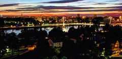 Kehl - Straßburg - Blick