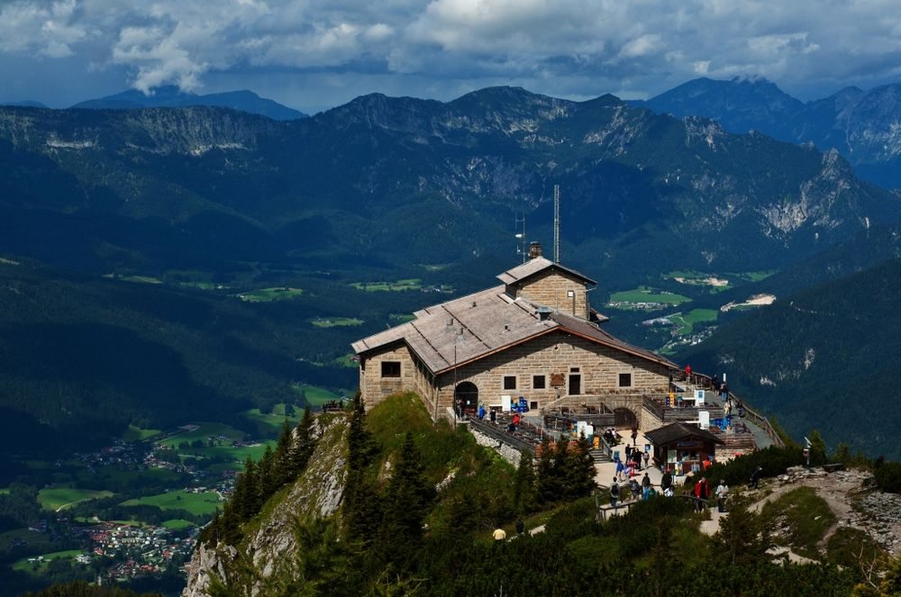 kehlsteinhaus berchtesgaden the eagels nest foto bild architektur kehlsteinhaus eagles. Black Bedroom Furniture Sets. Home Design Ideas