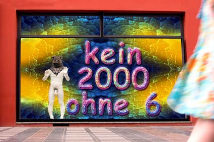kein 2000 ohne 6