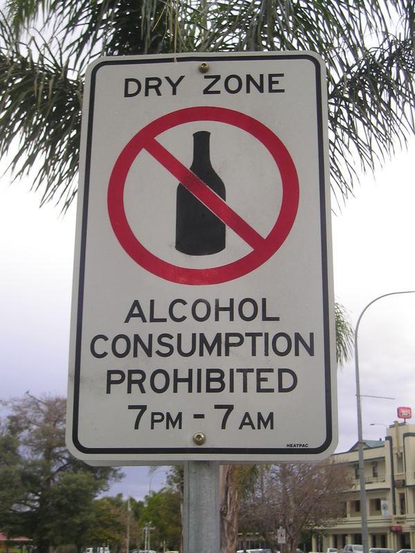Kein Alkohol...