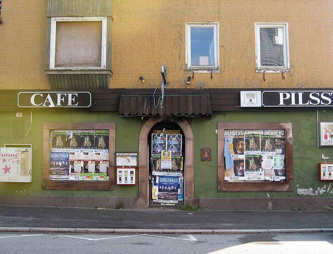 Kein Cafe und auch kein Pils ...