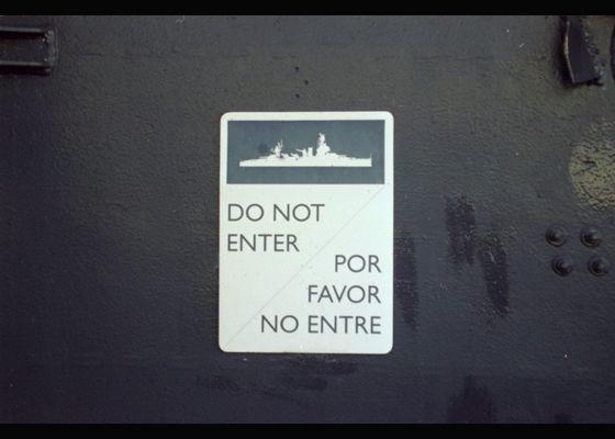 Kein Eintritt