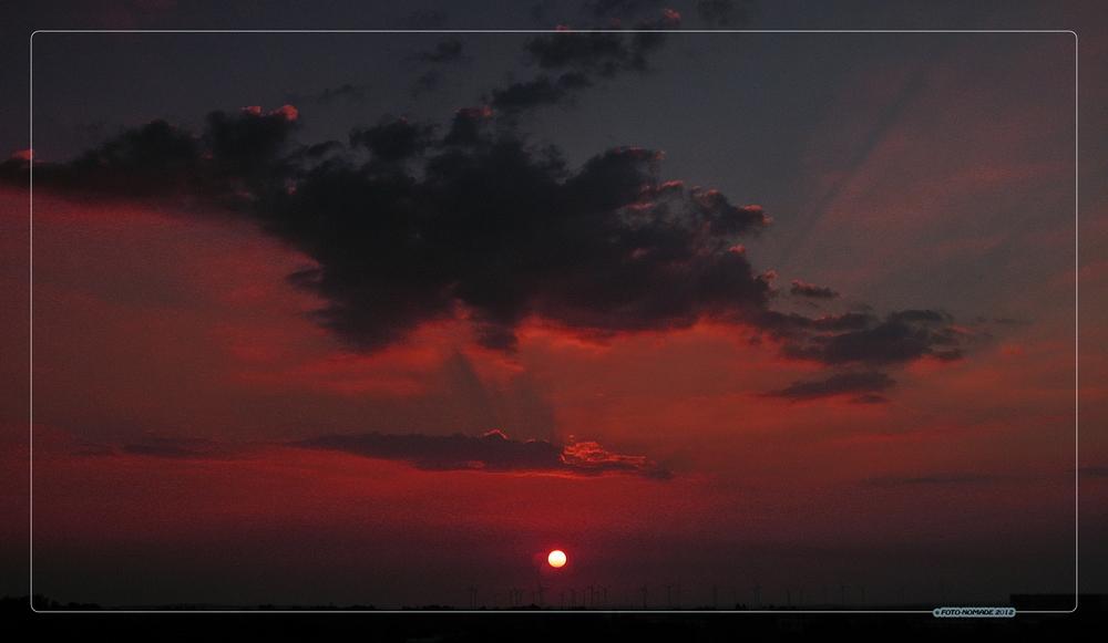(K)ein gewöhnlicher Sonnenaufgang ..