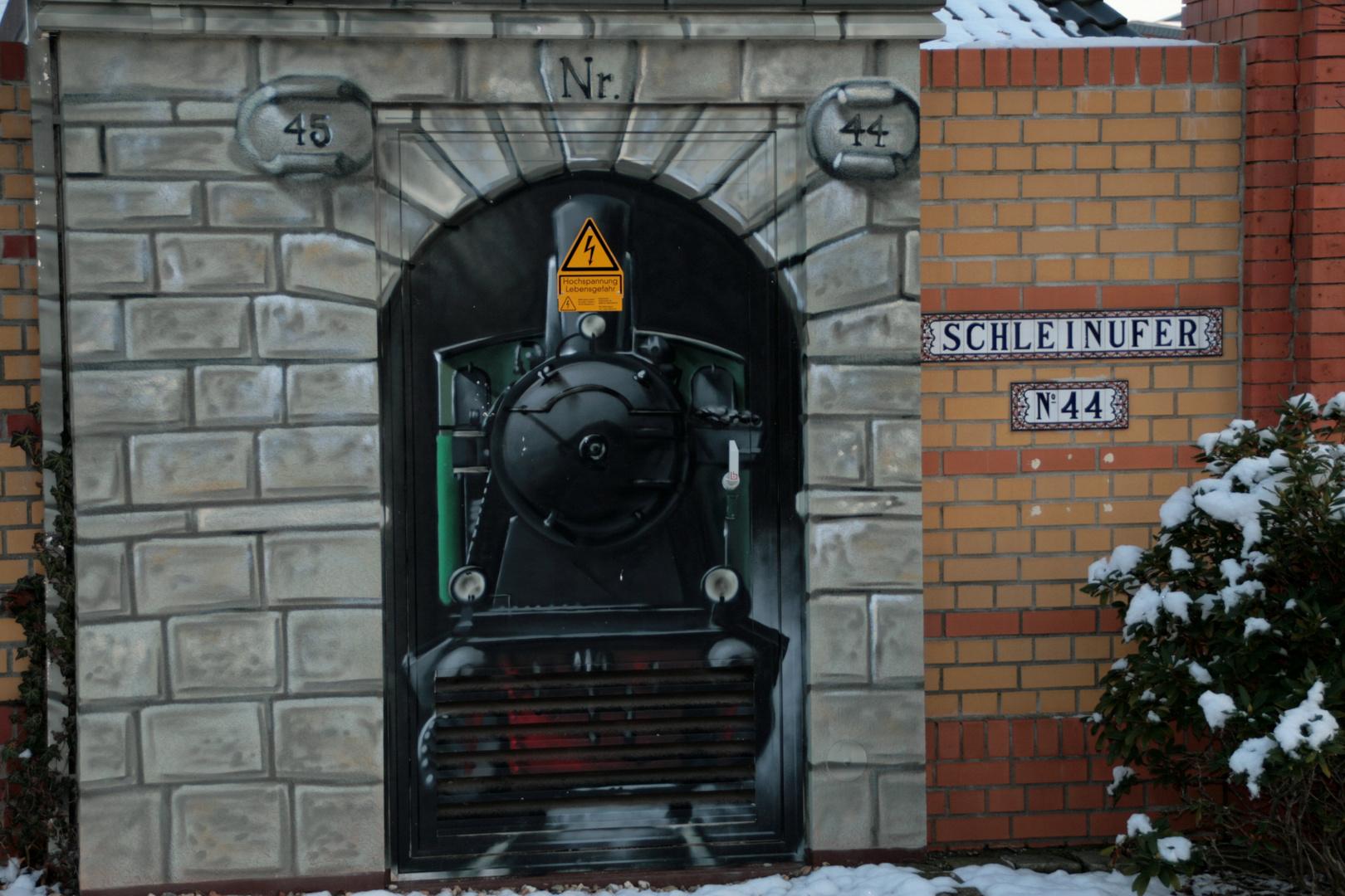 Kein Graffittie